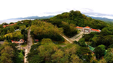 aerial view UPV