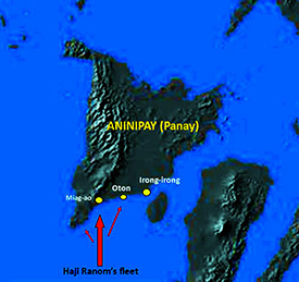 Map of Panay