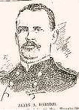 Capt. Barker, Commander of Miagao Garrison, Company M of the 26th US Infantry.