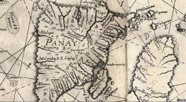 Map of Panay, 1727