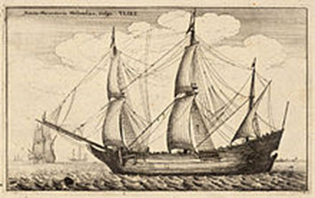 Fluyt, the merchant vessel of the Dutch East Indies Company