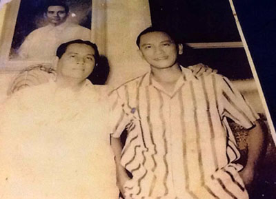 Photo of Elias Failagao on the right with Disodado Macapagal on the left, courtesy of Lorna Dehdeh.